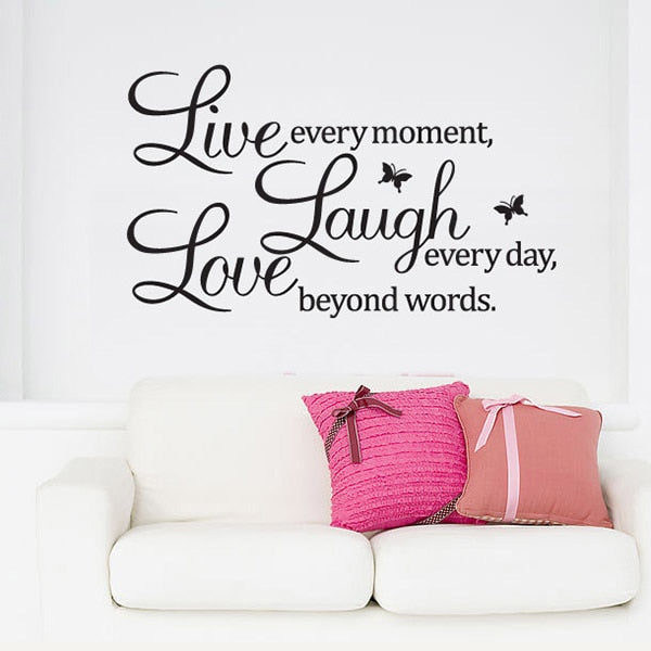 Inspirational Wall Quote Stickers & Decals \