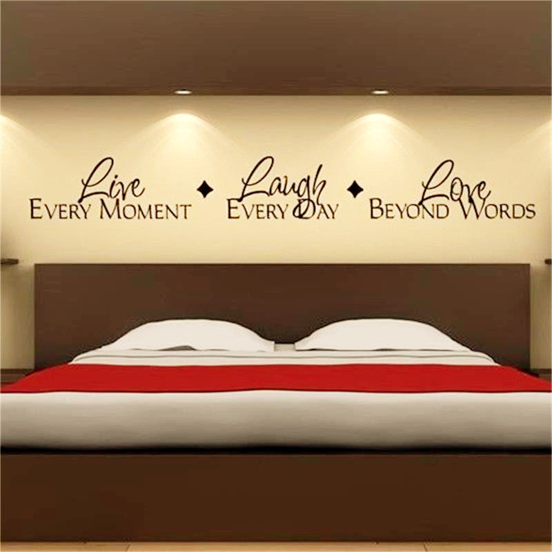 Inspirational Quotes Wall Stickers Decals Bedroom Decoration Decorchy