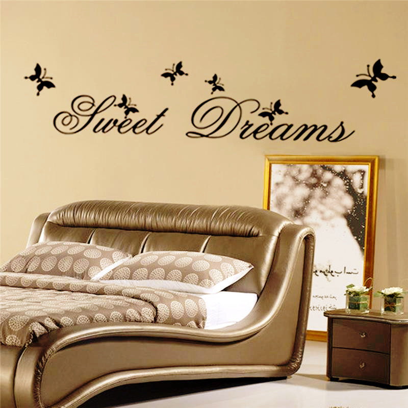 Inspirational Wall Quote Stickers&Decals-Sweet Dreams-decor byDecorchy