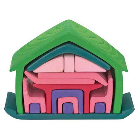 Play House Set (pink and green)
