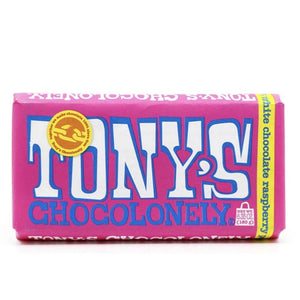 White Raspberry Popping Candy by Tony's Chocolonely (local pick up only)