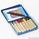 Stockmar Crayons - 8 supplimentary colors in tin box