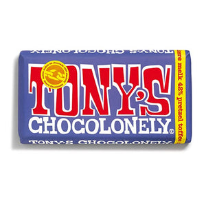 Dark Milk Chocolate with Pretzel and Toffee by Tony's Chocolonely