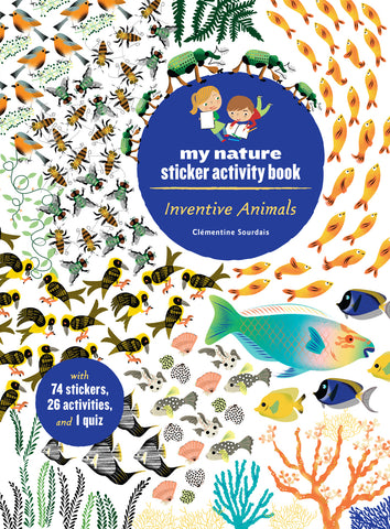 Inventive Animals my nature sticker activity book