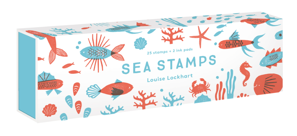 Sea Rubber Stamp Kit