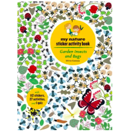 My nature sticker activity book Garden Insects and Bugs