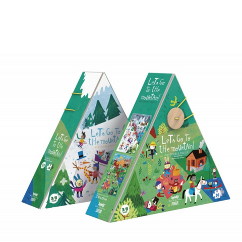 Let's Go To The Mountain 36 pc Puzzle by Londji