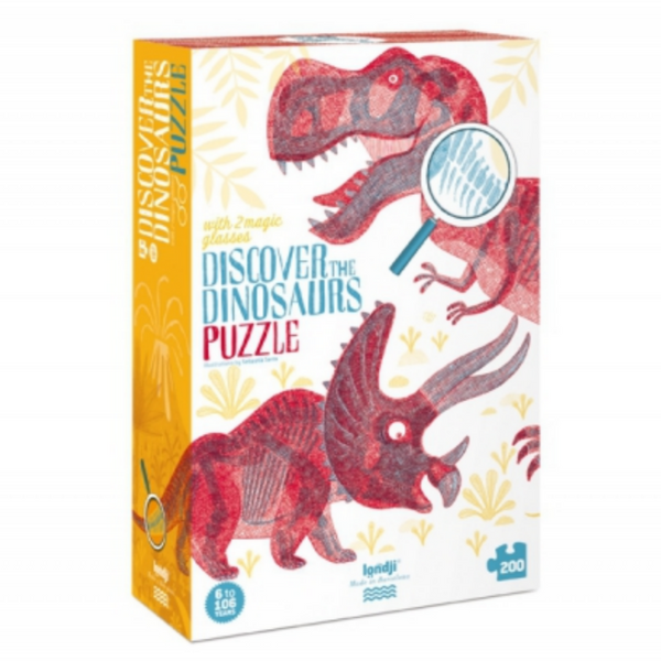 Discover The Dinosaurs 200 pc Puzzle by Londji
