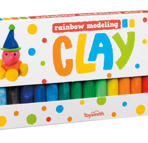 Rainbow Modeling Clay