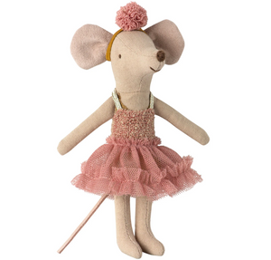 Dance Mouse Big Sister Mira Belle by Maileg