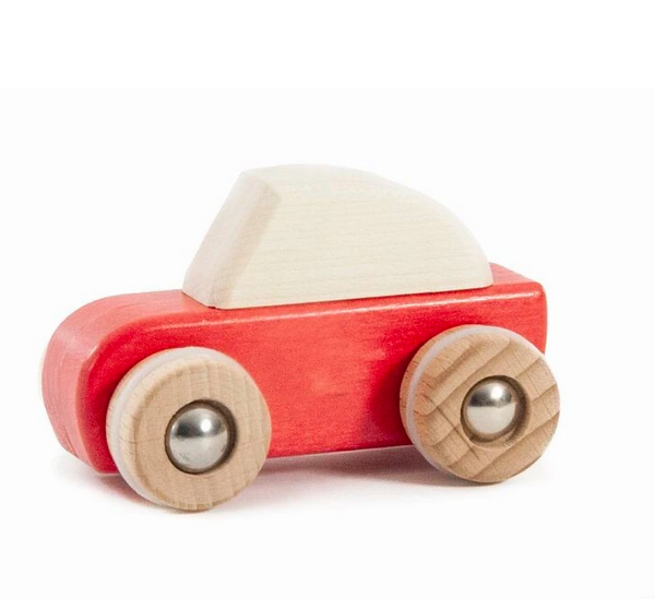 Wooden Pull Back Car by Bajo (more colors!)