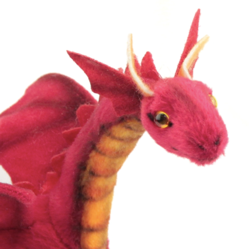 Red Dragon Baby by Hansa
