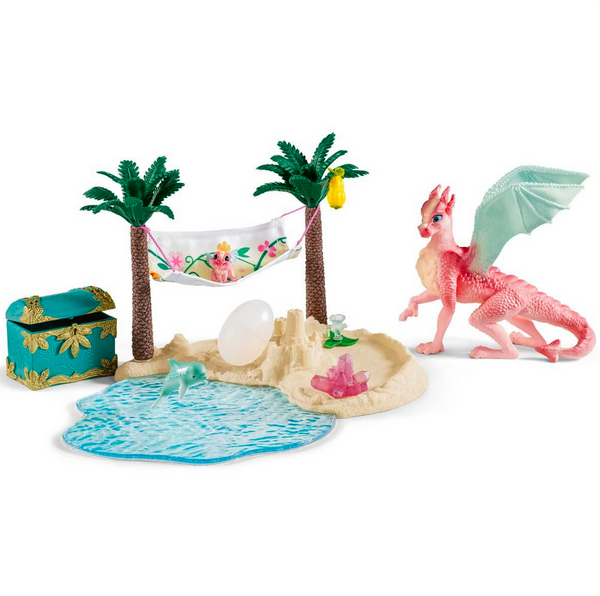 Dragon Island with Treasure by Schleich