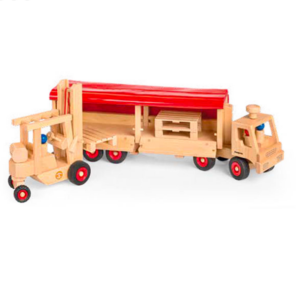 Fagus Semi-Truck and Trailer