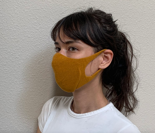 Japanese Organic Cotton Face Mask (new 3D design)