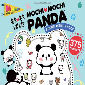 Sticker Activity Book-Mochi Mochi Panda (Kawaii Kids Club)