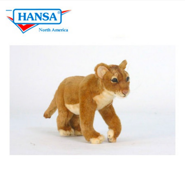 Standing Lion Cub by Hansa