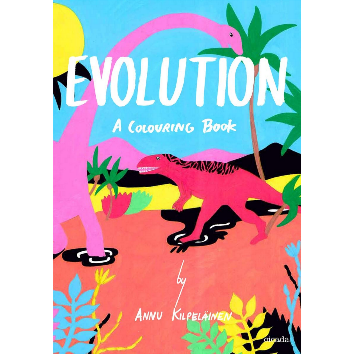 Evolution: a coloring book