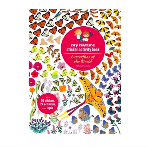 Butterflies of the World my nature sticker activity book