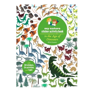 In the Age of Dinosaur my nature sticker activity book