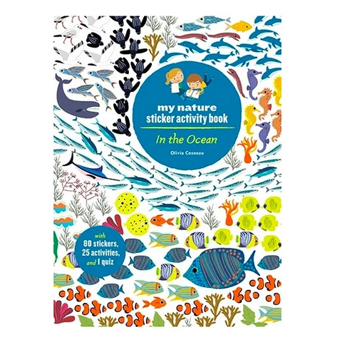 In the ocean my nature sticker activity book