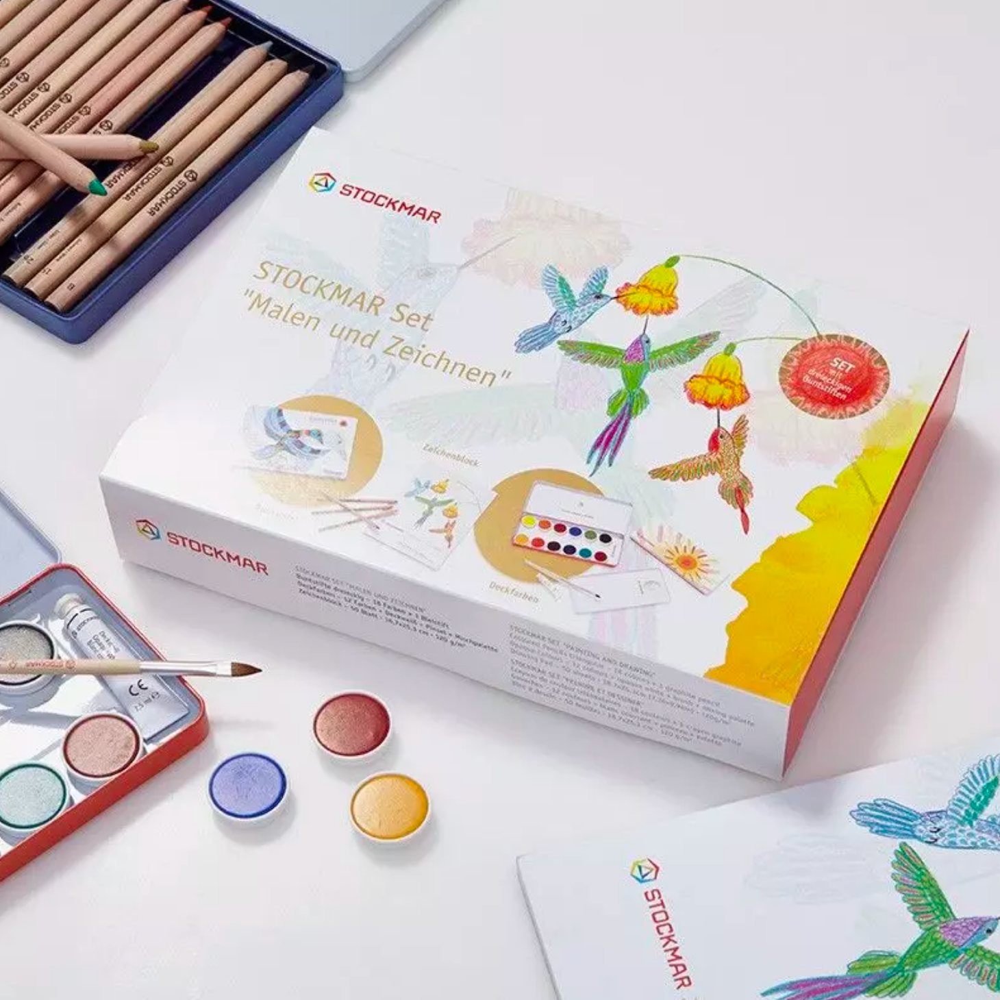 Stockmar Drawing and Painting Set