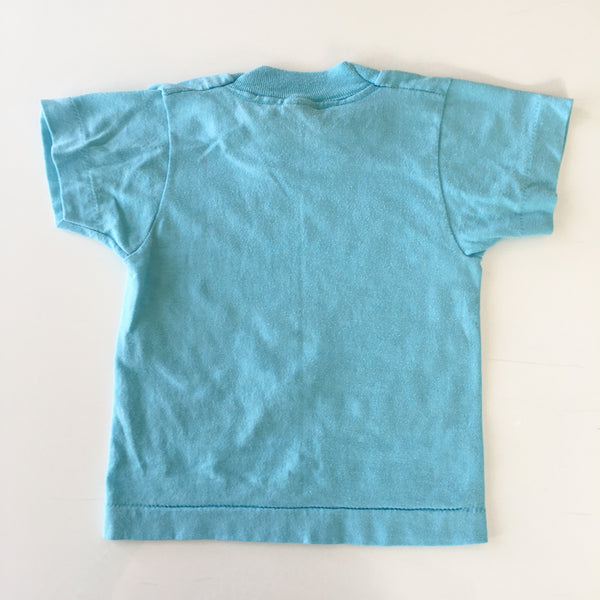 Vintage Blue Gleason's Gymnastic Tee / size 4T