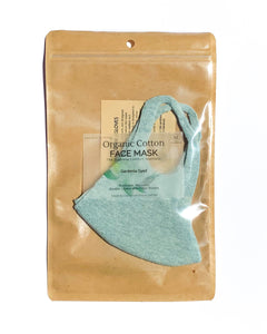Japanese Botanical Dyed Organic Cotton Face Mask