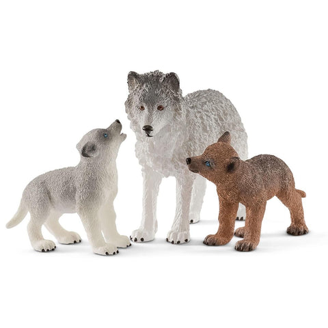 Mother Wolf with Pups by Schleich
