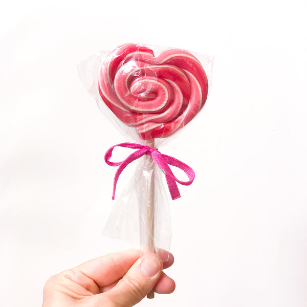 Lollipo Organic Heart (Cherry flavor)
