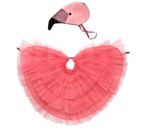 Flamingo Cape Dress Up Costume