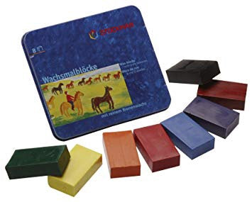 Stockmar Wax Blocks - 8 colours in tin box
