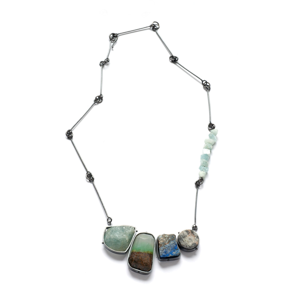 CL52N-X - Collage Necklace #52