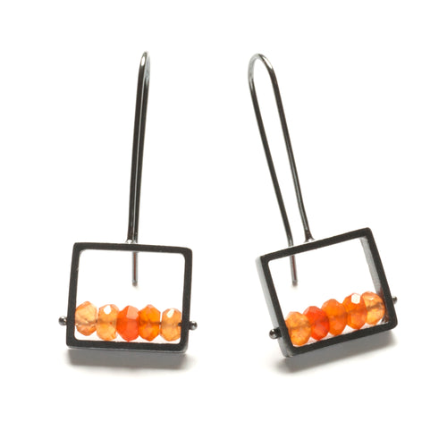 CSJ04LE - Frame Earrings, French wire