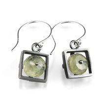Square Cage Earrings, Short Dangle