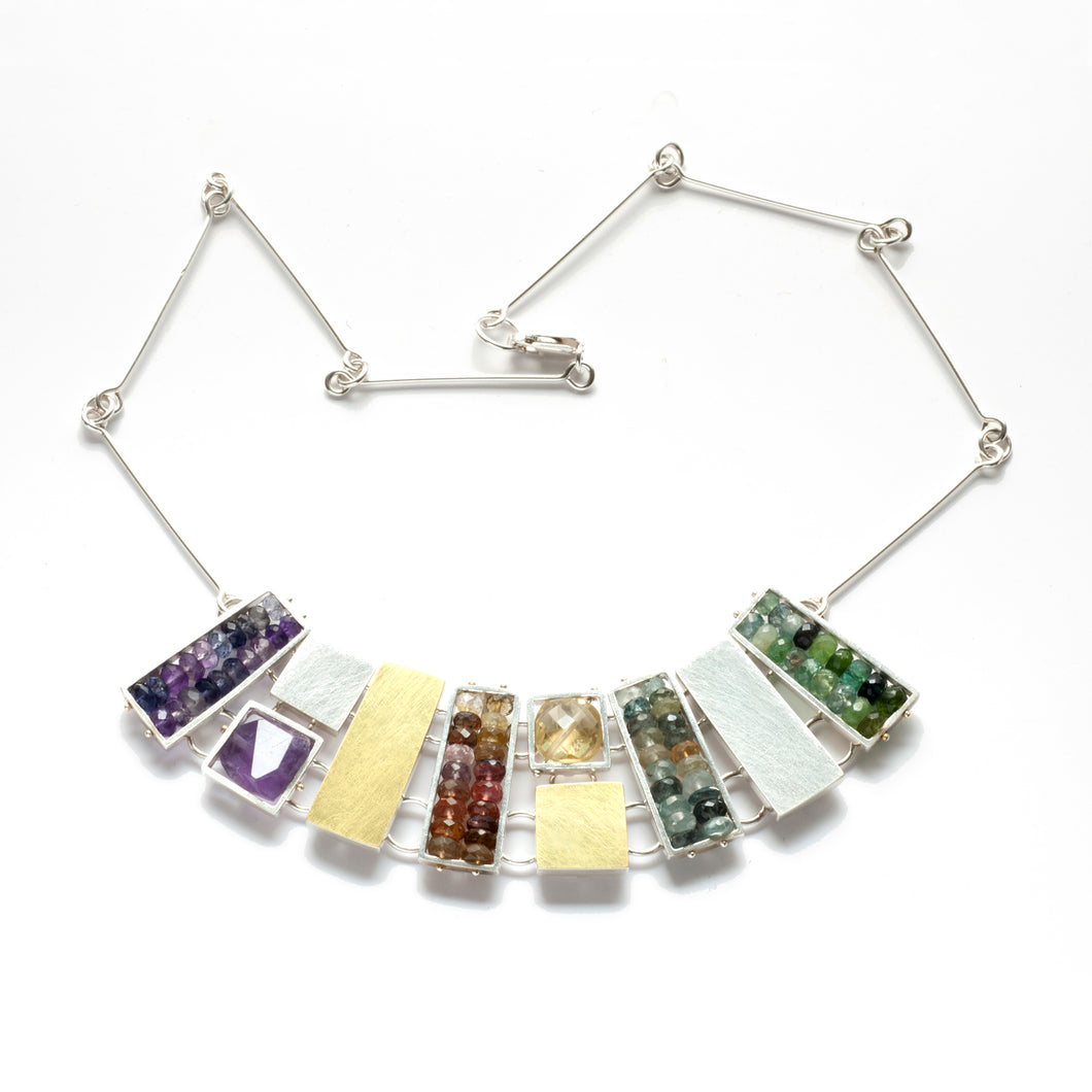 Rectangle Cage Necklace