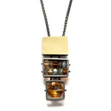 Three Cage Necklace, Medium