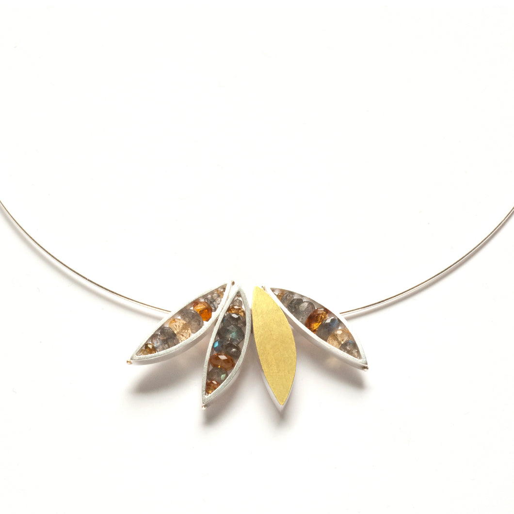 Four Leaf Necklace ENJ04N-BIS, -BIX
