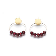 Circle Earrings, post
