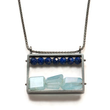 Horizontal Frame Necklace LR11N