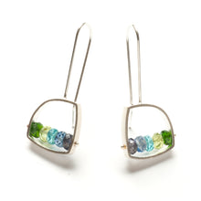 Small Irregular shape Earrings, French wire MA01LE