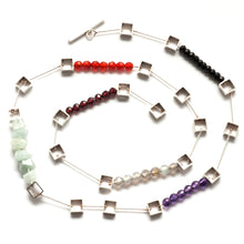 Multi Squares Chain Necklace