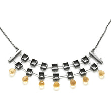 Multi square Necklace MP47N