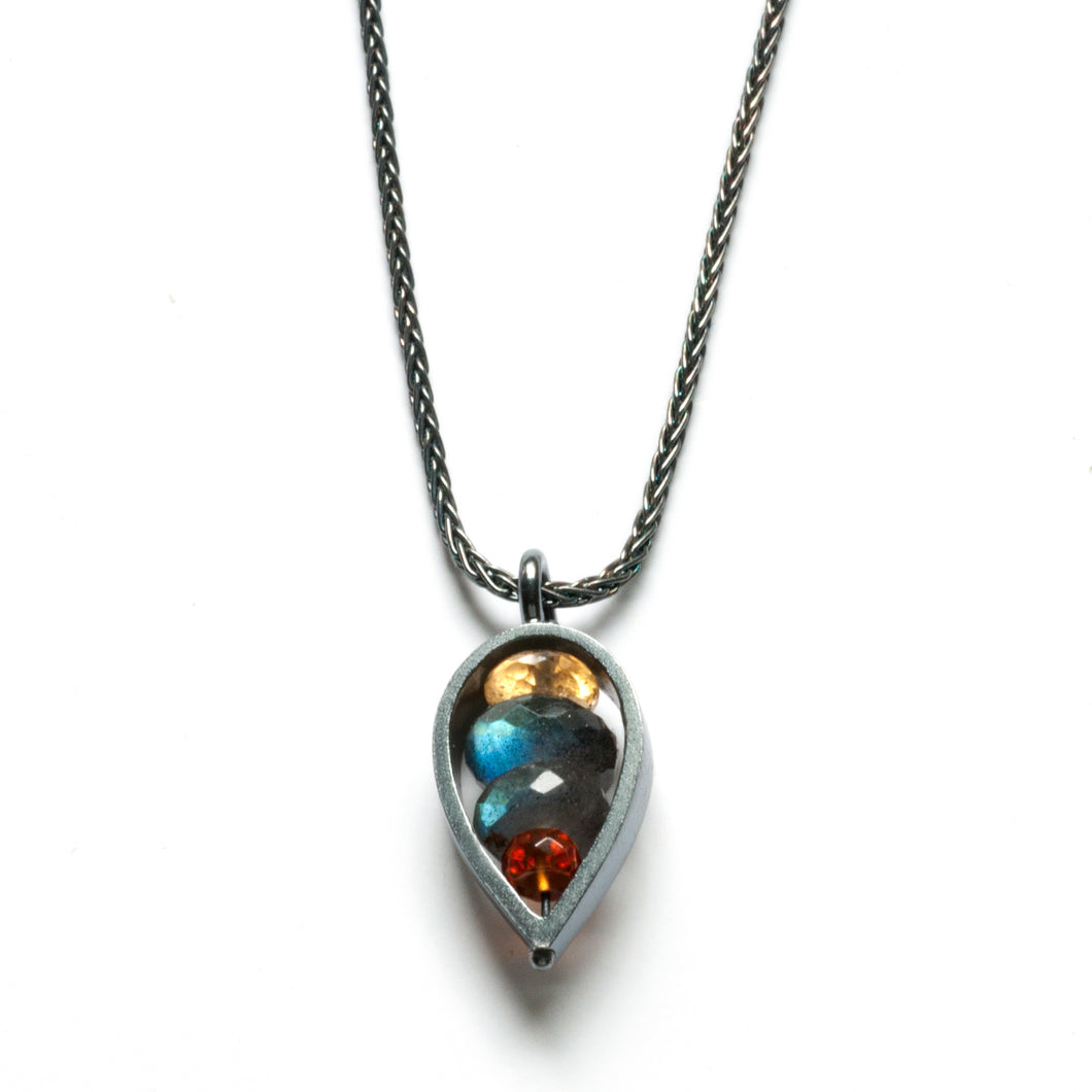 PT01N - Inverted Teardrop Necklace