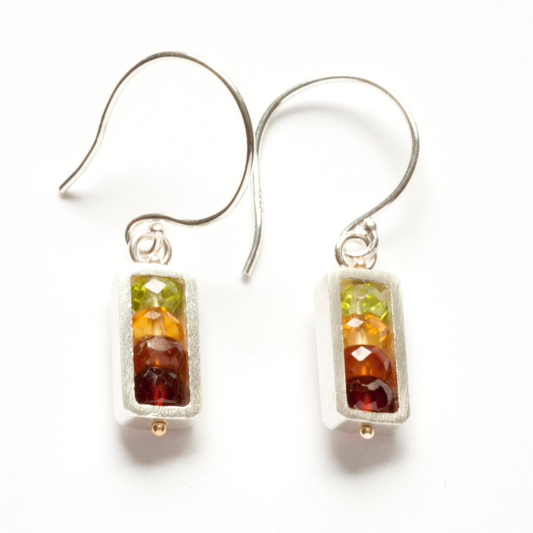 Vertical Rectangle Earrings, dangle RJ01SE