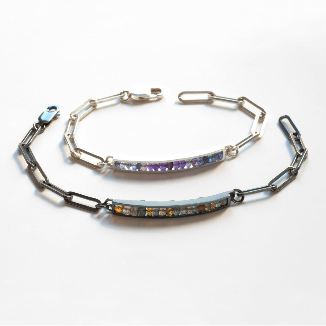 RS01B - Long Rectangle Bracelet