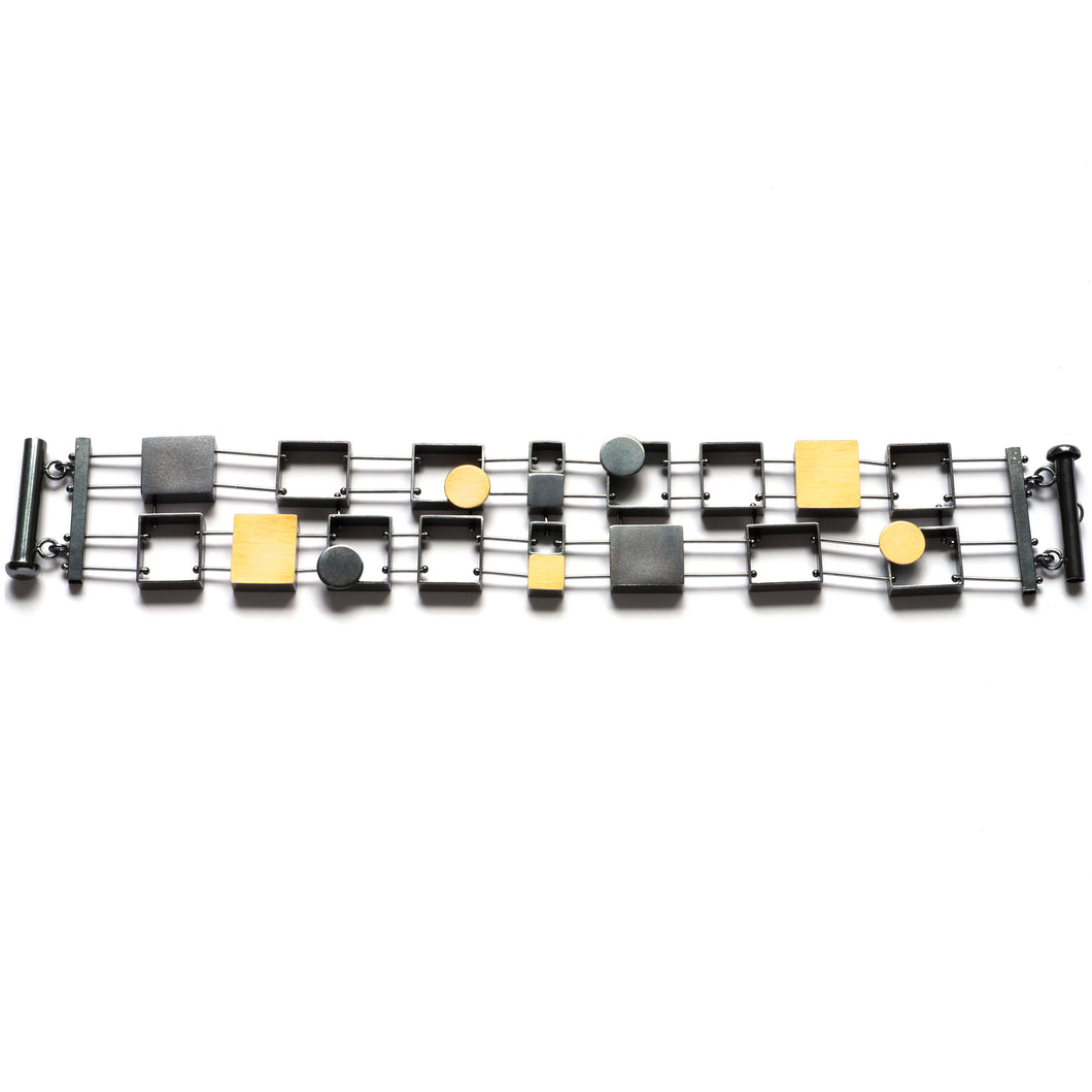 Multi Rectangles Bracelet