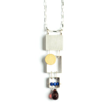 Stacked Rectangles Necklace SRJ32N