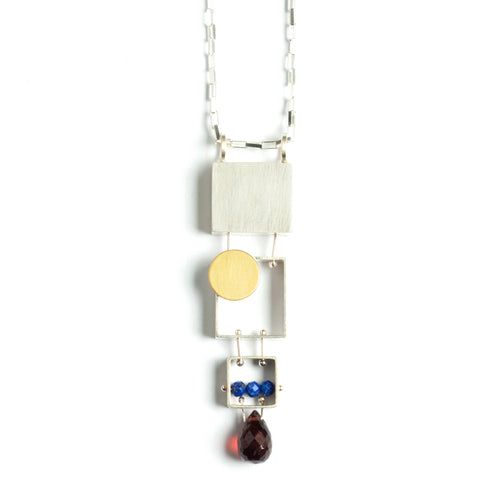 Stacked Rectangles Necklace