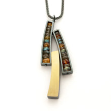 Triple Wedge Necklace